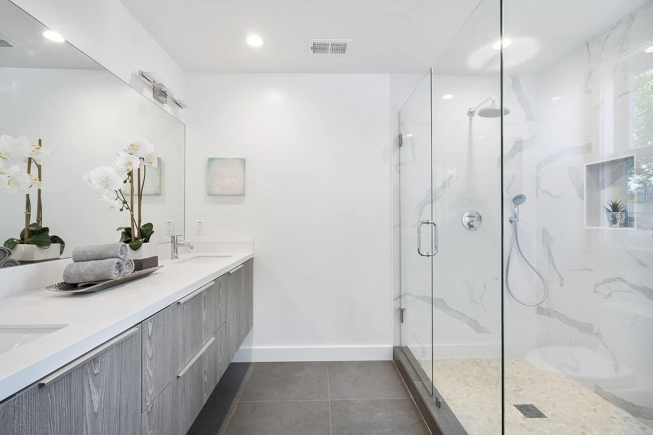 Image of Bathroom with Shower